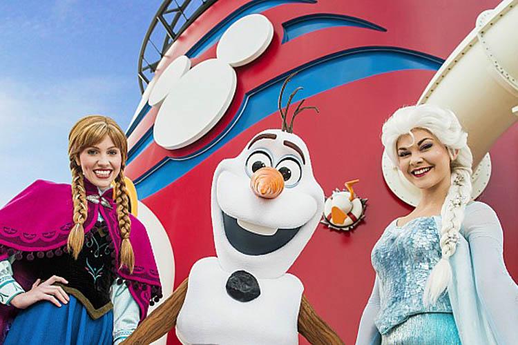 Que tal uma aventura congelante num cruzeiro Disney?