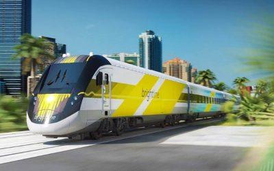 Em breve um trem de alta velocidade ligará Miami a Orlando