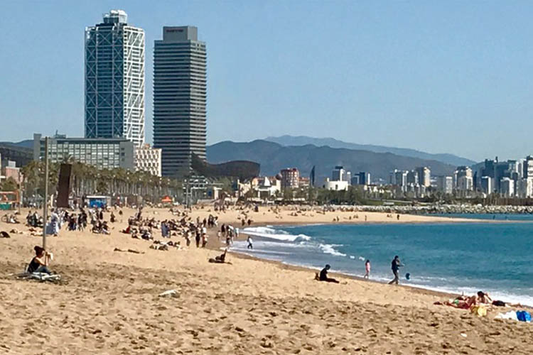 Visite Barcelona no Verão